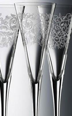 Champagne – flûtes à champagne Nachtmann. Ensemble de 4