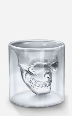 Bar/cocktail – Skull Ens. de 2 verres 2 onces