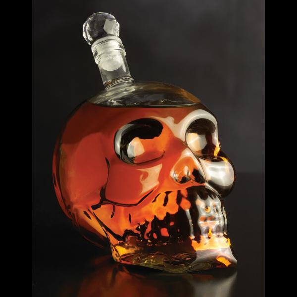 Bar/Cocktail – Skull décanteur en cristal