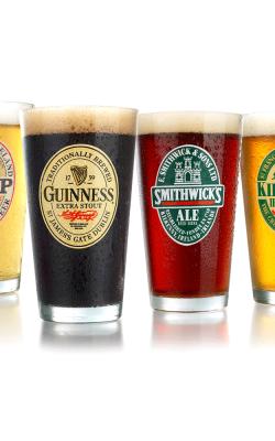 Bière – Ensemble de 4 verres à bière