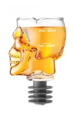 Bar/Cocktail – Skull, Doseur et bouchon Tête de mort