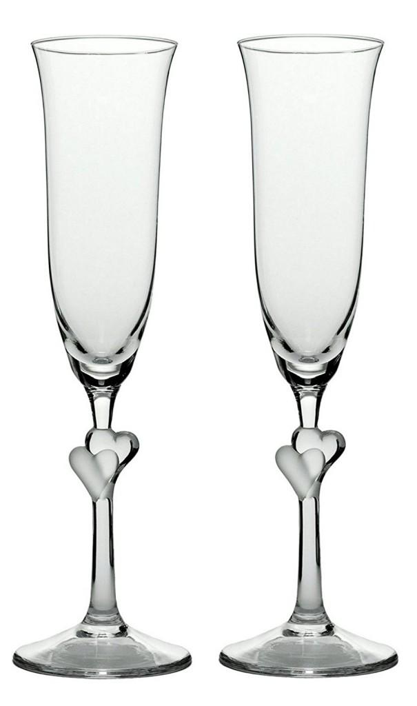 Champagne – Flûte à champagne l'amour. ensemble de 2