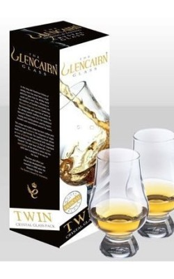 Bar/Cocktail – VERRE à WHISKY GLENCAIRN. Emballage Twin de 2 verres.