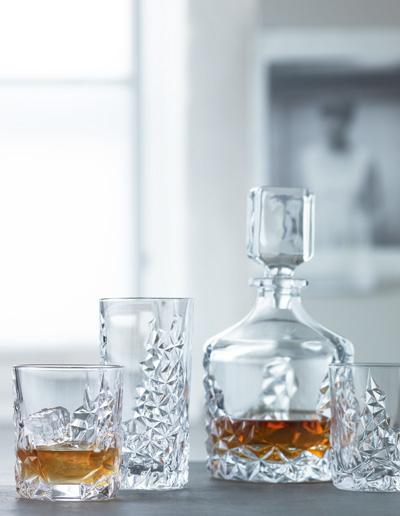 Bar/Cocktail – Verres et carafe Nachtmann. Ensemble de 3 et 5 morceaux